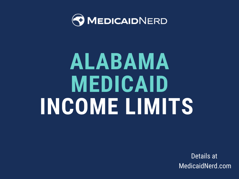 """""""What are the income limits for Medicaid in Alabama"""""""