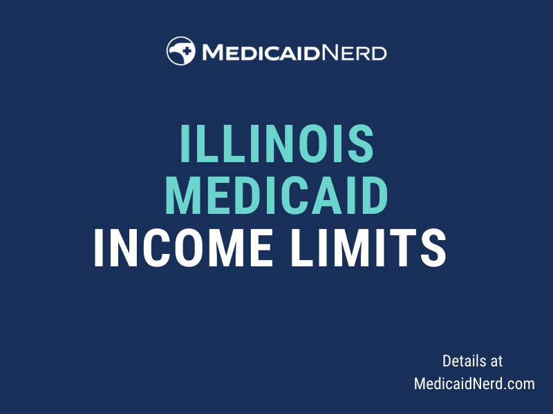 What are the income limits for Medicaid in Illinois?