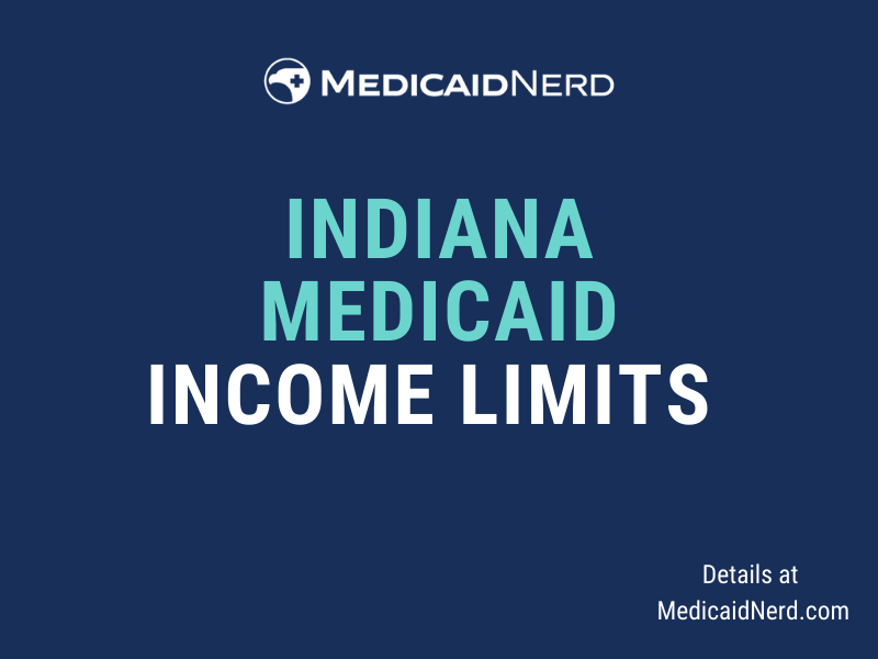 """""""What are the income limits for Medicaid in Indiana"""""""