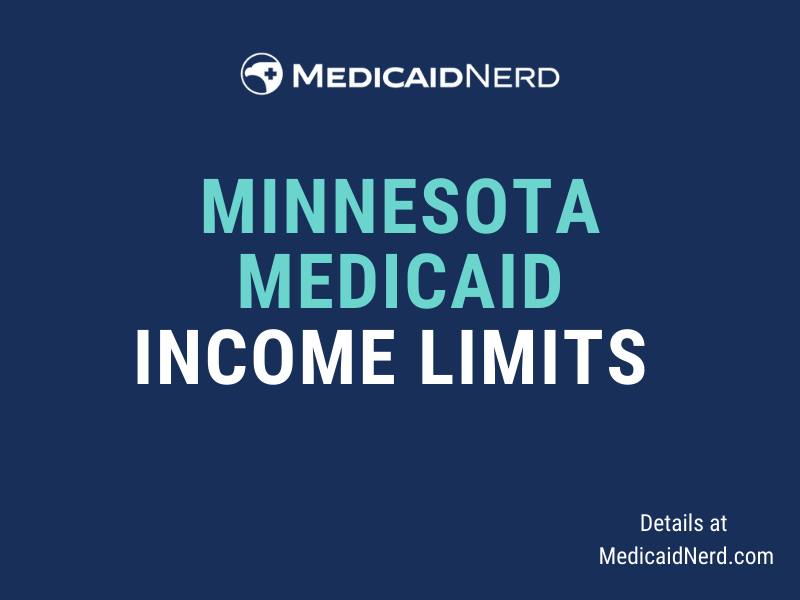 What are the income limits for Medicaid in Minnesota?