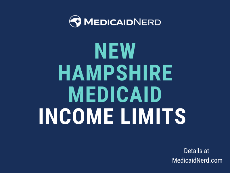 """""""What are the income limits for Medicaid in New Hampshire"""""""