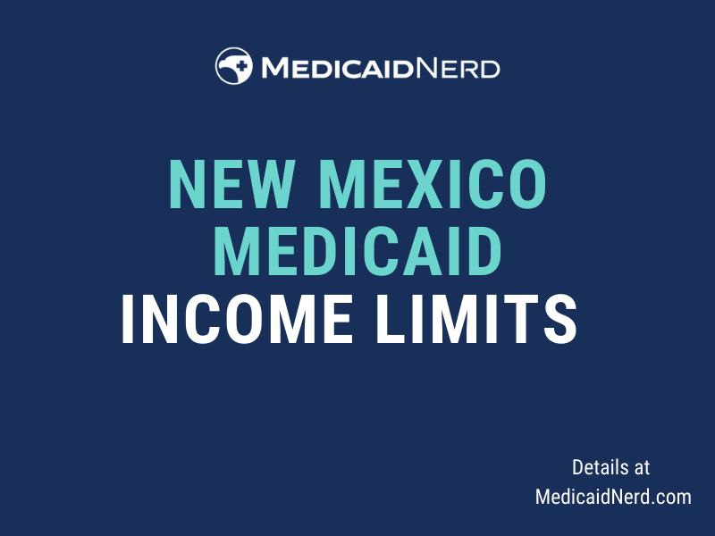 """""""What are the income limits for Medicaid in New Mexico"""""""