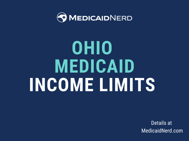 """""""What are the income limits for Medicaid in Ohio"""""""