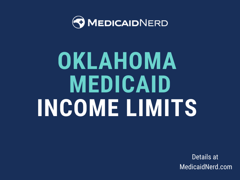 """""""What are the income limits for Medicaid in Oklahoma"""""""