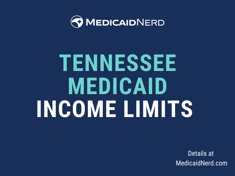 """""""What are the income limits for Medicaid in Tennessee"""""""